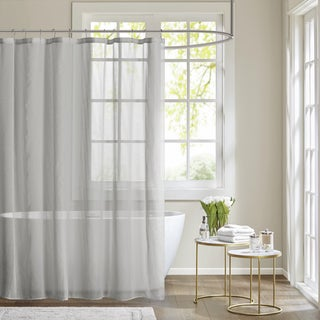 Madison Park Lydia Shower Curtain 2-Color Option