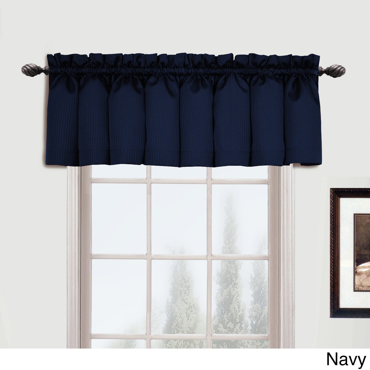 United Metro Woven Extra Long Curtain Panel (95 Inches   .