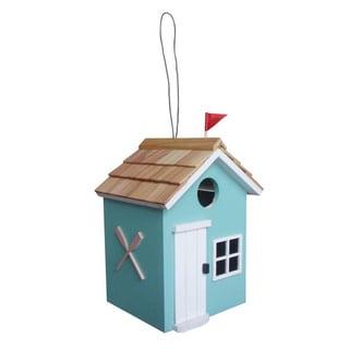 Beach Hut Birdhouse