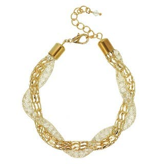J&H Designs Glass Mesh Twisted Bracelet https://ak1.ostkcdn.com/images/products/12851839/P19615186.jpg?impolicy=medium