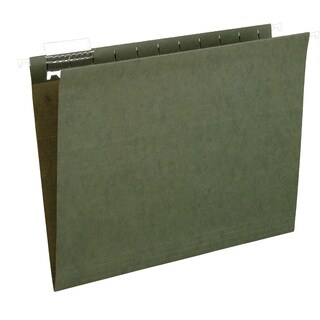 Pendaflex 91525 25 Count File Pro Standard Green Hanging File Folders