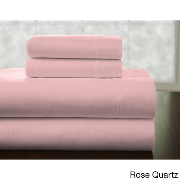 Pointehaven 175 Gsm Cotton Flannel Bed Sheet Set With Oversized Sheets On Sale Overstock 12851884