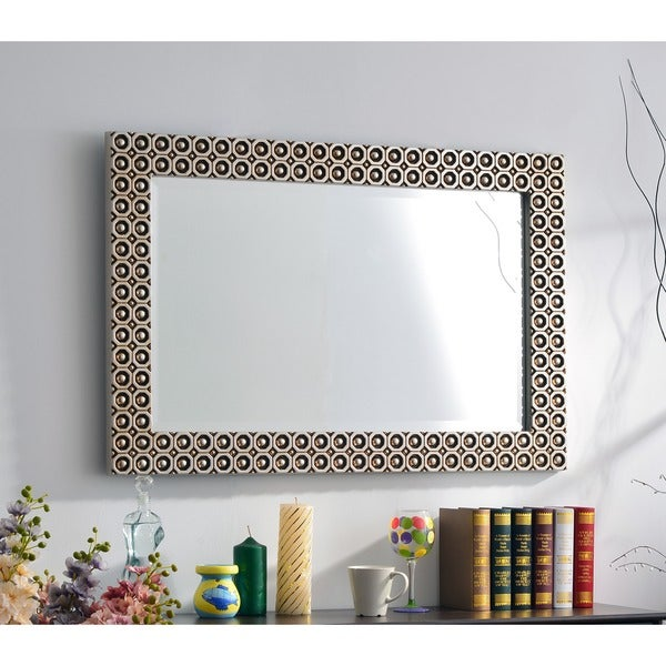 Caster Wall Mirror Free Shipping Today