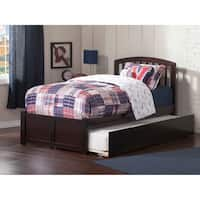 Atlantic Richmond Espresso Panel Twin-size Bed with Trundle Bed