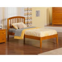 Atlantic Richmond Caramel Latte Twin XL Open Foot Bed