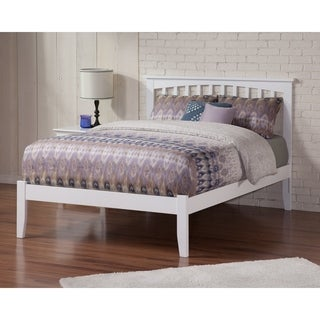 Mission Full White Open-foot Bed