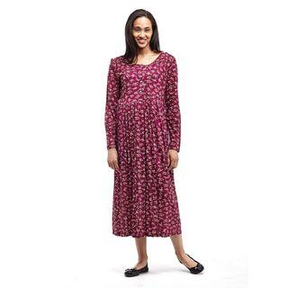 La Cera Women's Button Front Dress