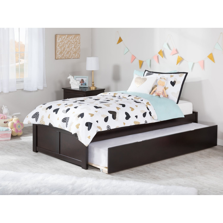 Atlantic Concord Espresso (Brown) Twin-size Bed with Urba...