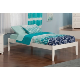 Concord White Twin XL Open-foot Bed