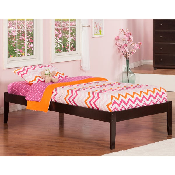 Concord Twin XL Espresso Open Foot Bed