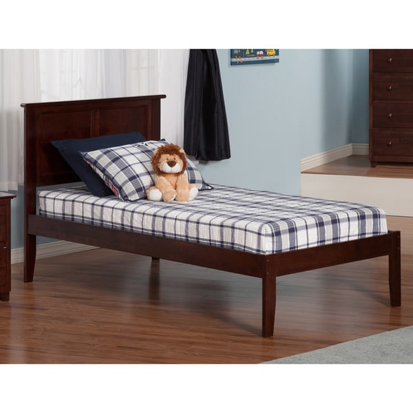 Madison Walnut Twin XL Open Foot Bed