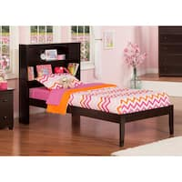 Newport Espresso Open Foot Twin Bed
