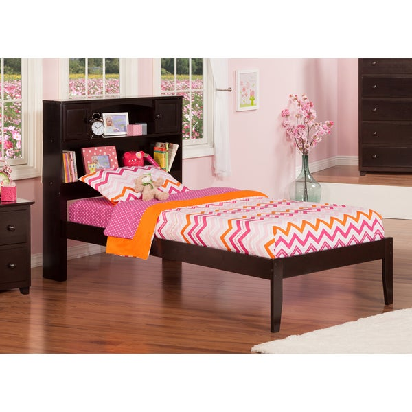 Atlantic Newport Espresso Twin XL Open-foot Bed