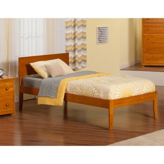 Caramel Latte Orlando Twin XL Open Foot Bed