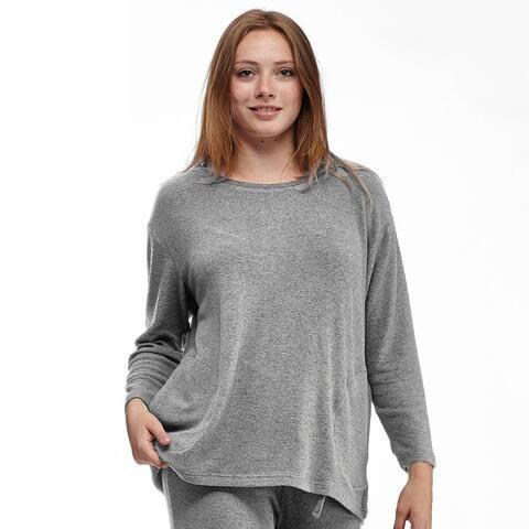 La Cera Women's Plus-size Pullover Top