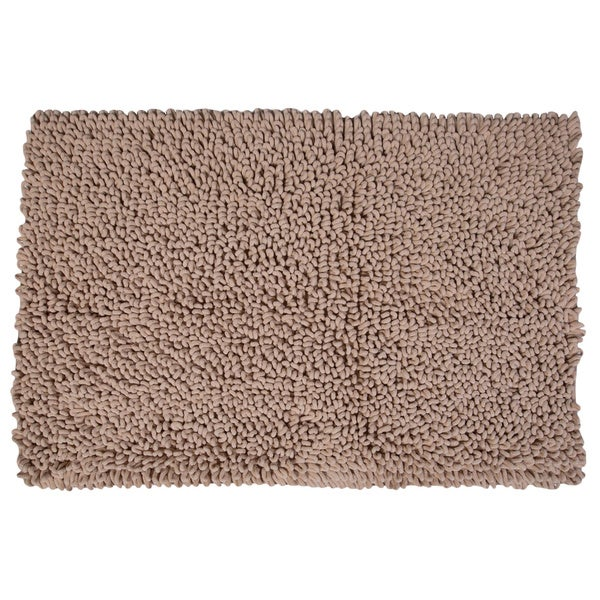 Home Dynamix Malibu Collection Solid Ultra-Soft Bath Mat - 3 sizes available