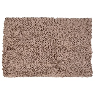 Home Dynamix Malibu Bath Mat Ultra-Soft Poyester Chenille with Non-skid Backing - 3 sizes available
