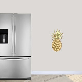 Pineapple Printed Wall Decals