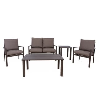 Somette Kaufmann Aluminum 5 Piece Conversation Set