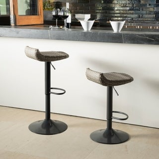RST Brands Canne Woven Outdoor Barstool Set