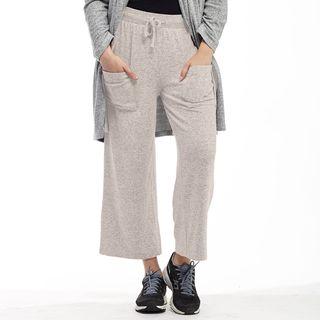 La Cera Women's Rayon/Polyester/Spandex Soft Capris