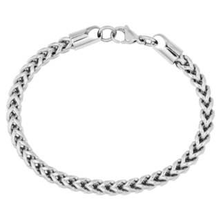 Men's Stainless Steel 9-inch Link Bracelet