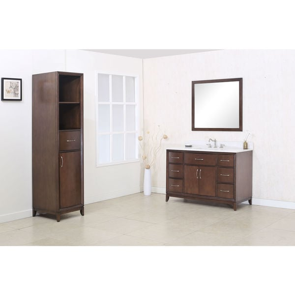 Shop Legion Furniture Antique-coffee 48-inch Quartz-top 3 ...
