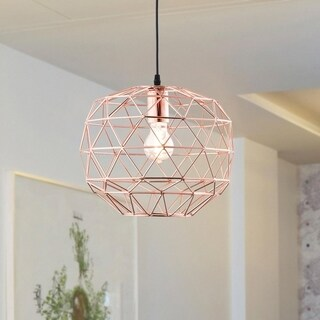 Light Society Caffrey Copper Iron Pendant Lamp