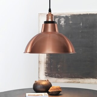 Light Society Corianna Copper Pendant Lamp