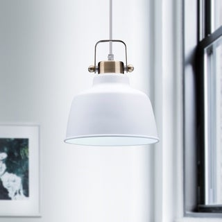 Mercer Grey Metal 1-light Pendant Lamp