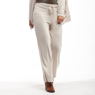 La Cera Women's Plus-size Soft Pants (More options available)