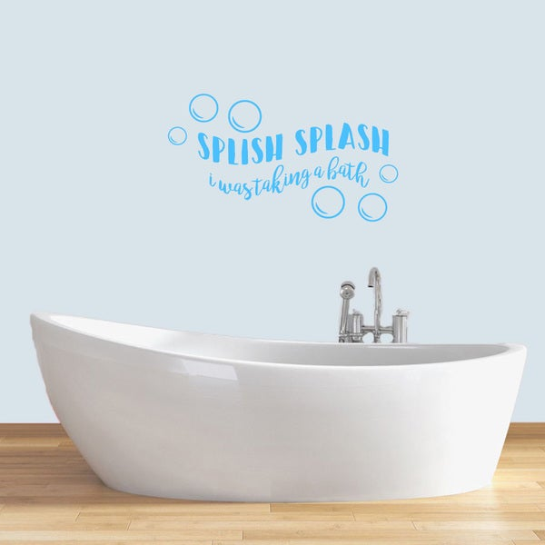 "Splish Splash Wall Decals - 36"" wide x 20"" tall"