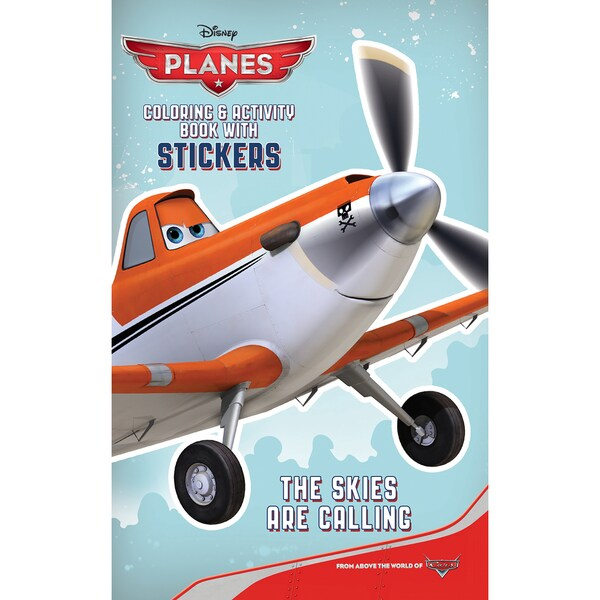 Bendon Publishing International 10284 Disney Planes Coloring Book With Stickers