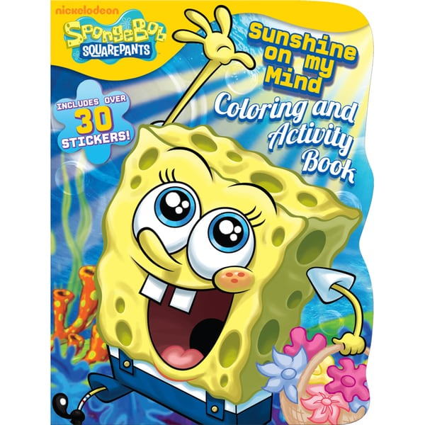 Bendon Publishing International 17766 SpongeBob Coloring & Activity Book