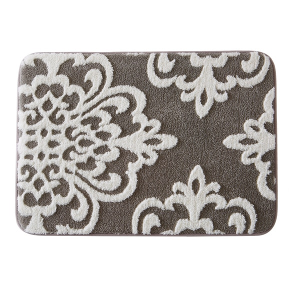 Home Fashion Designs Peyton Collection Plush Memory Foam Anti-Fatigue Bath Mat