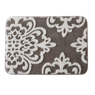 Home Fashion Designs Peyton Collection Plush Memory Foam Anti-Fatigue Bath Mat