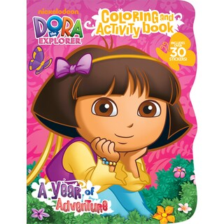 Bendon Publishing International 17781 Dora The Explorer Coloring & Activity Book With Stickers
