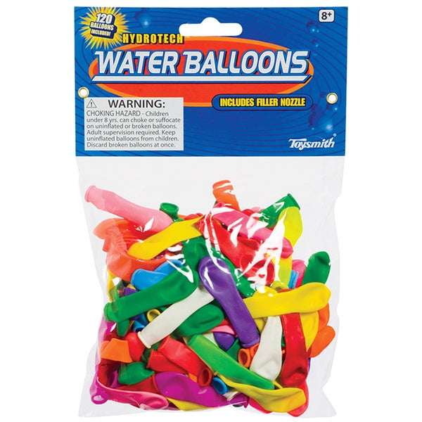 Toysmith 02771 Water Balloons 120-count Assorted Colors