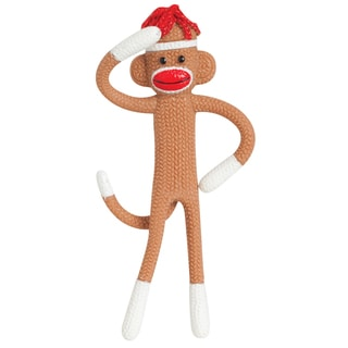 Toysmith 02855 Bendable Sock Monkey
