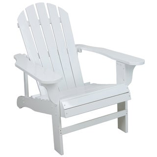 Lehigh-country TX94052 White Adirondack Chair