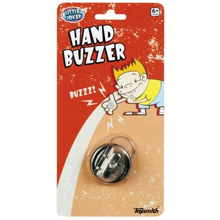 Toysmith 10348 Metal Little Joker Hand Buzzer