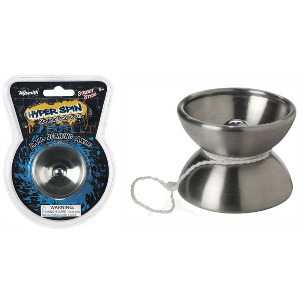 Toysmith 1632 Stainless Steel Hyper Spin Yo-Yo