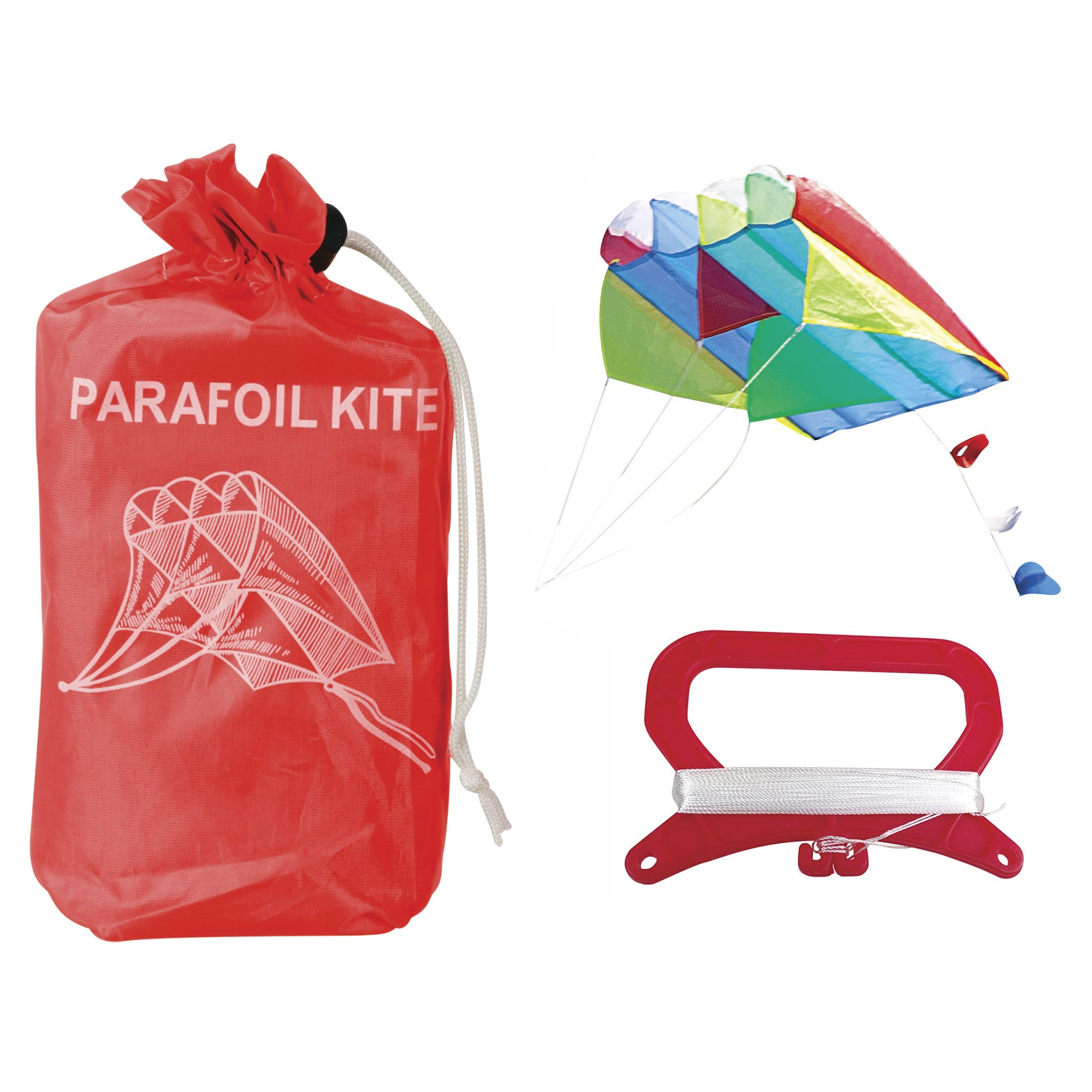 Toysmith 1997 Parafoil Kite Assorted Colors (Parafoil Kite)