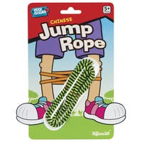 Toysmith 2121-36 Chinese Jumprope Assorted Colors