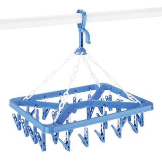 Whitmor 6171-844 Clip & Dry Hanger w/ 26 Clips