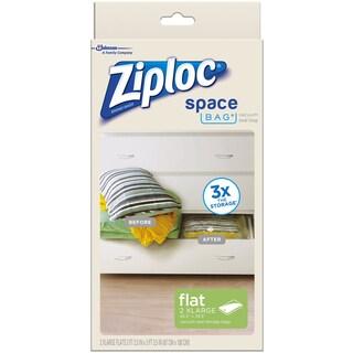 "Ziploc 70011 26.5"" X 39.5"" Extra-Large Space Bag 2-ct"