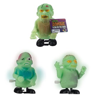 Toysmith 28886 Glow In The Dark Zombie Toy Assorted Styles