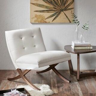 Carson Carrington Rapina White/Cream Chair Lounge Chair
