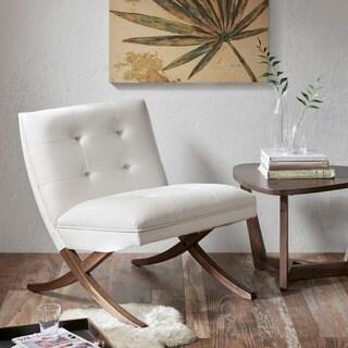 INK+IVY Wynn White Chair Lounge