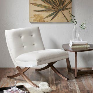 Upholstered Living Room Chairs For Less Overstock
